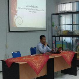Seminar Jurusan Matematika bersama Dr. Raden Sulaiman, M.Si.